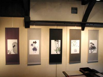 個展「跳ね兎の庭」神楽坂アユミギャラリー 2003