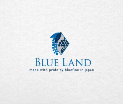 「BLUE LAND」ロゴ
