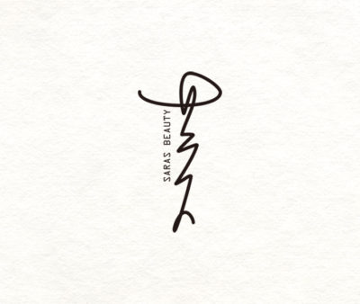 「神楽坂美容室 サラス」ロゴ制作